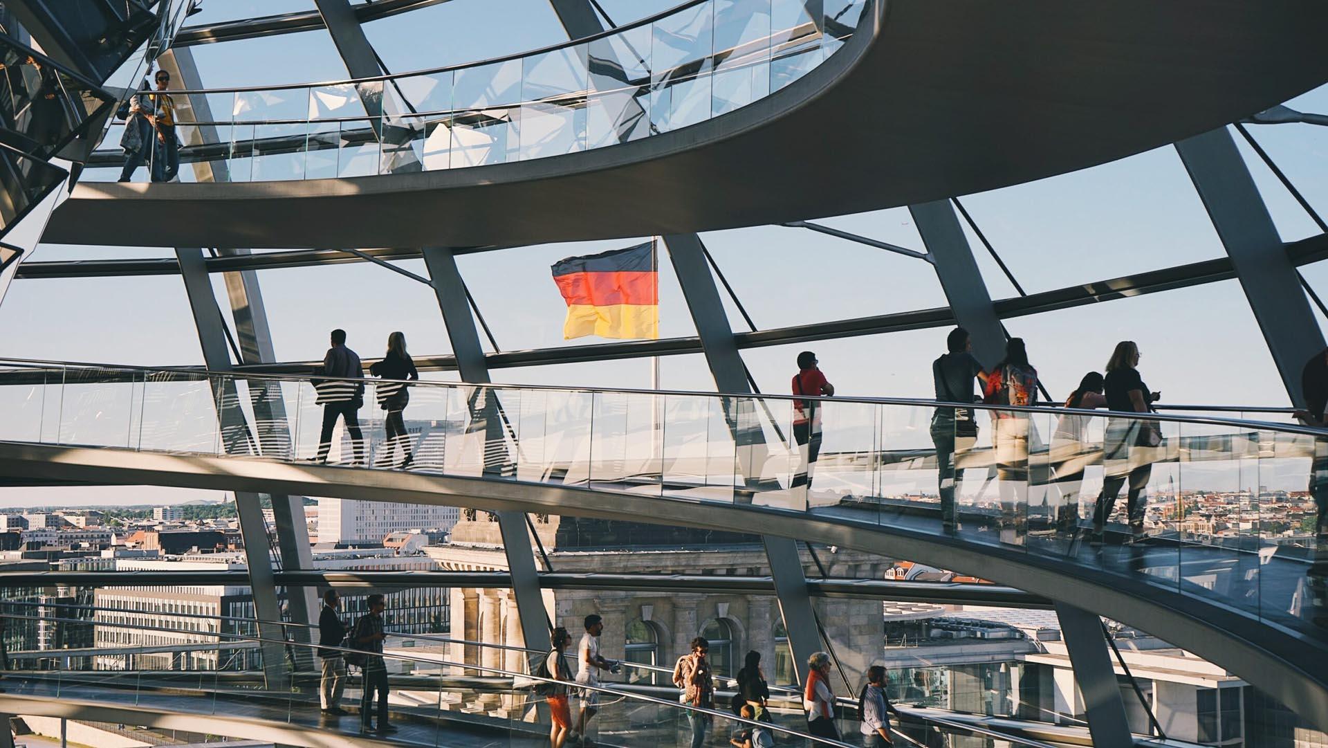 Deutscher Bundestag, in dem konjunkturelle Entwicklungen der Baubranche diskutiert werden