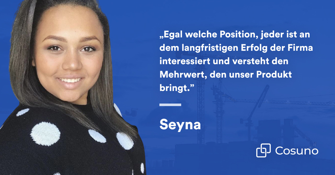 Zitat von Seynabou Diop, Senior Product Manager bei Cosuno