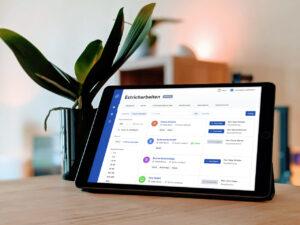 Cosuno Plattform zeichnet sich durch einfache Bedienung aus
