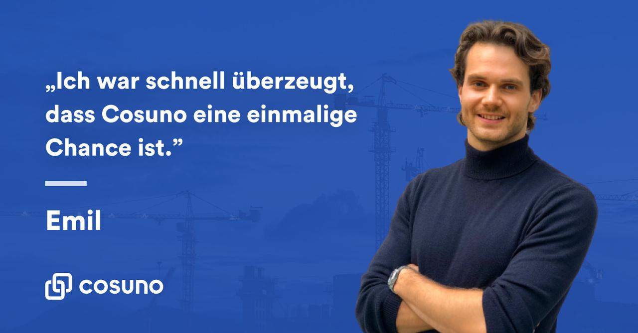 Zitat von Emil Eypeltauer, Head of Platform bei Cosuno