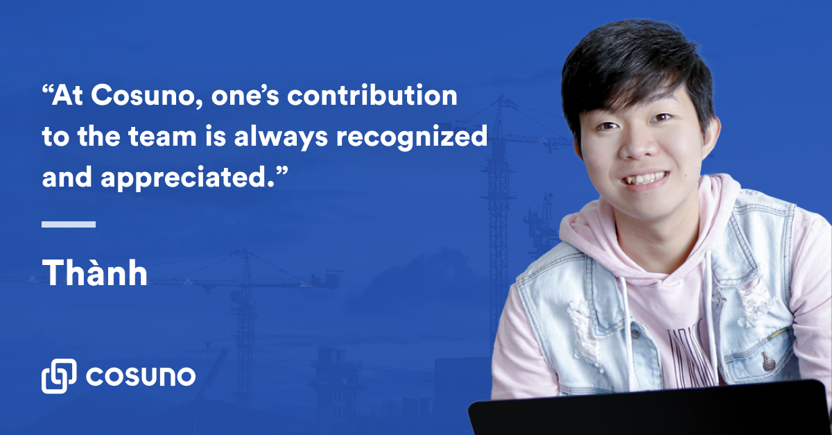 Zitat von Thành Nguyễn, product designer bei Cosuno